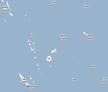 South Pacific Vanuatu Santo - Where is vanuatu